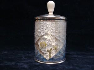 銀製 茶筒 「ネオジャポニズム」