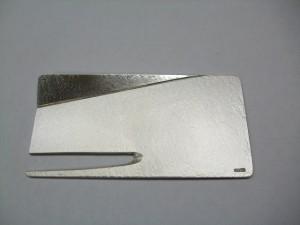 銀製 970レターオープナー(デザイナー岩佐設計工房)