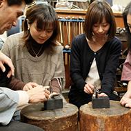 東京の伝統工芸 東京銀器 ワークショップ
