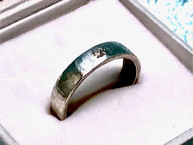 宗伯の銀製ハートリング